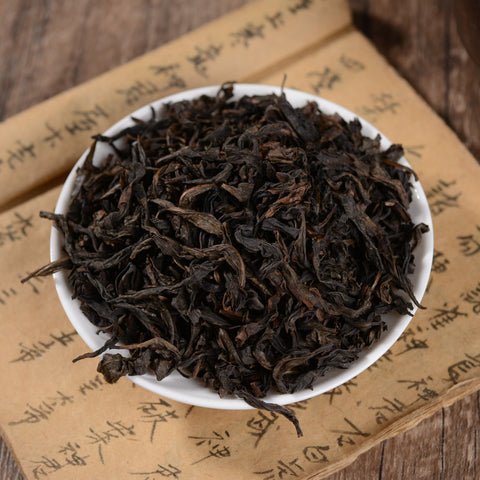 "Light Roast Tie Luo Han ""Iron Arhat"" Wu Yi Shan Rock Oolong Tea"