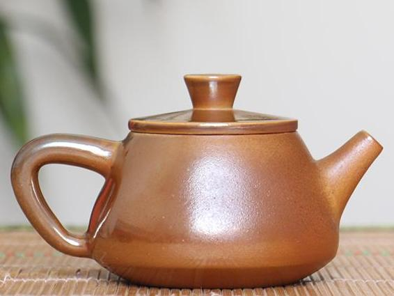 "Jian Shui Wood-Fired Clay ""Shi Piao"" Teapot by Cai Xi Lin * 240ml"