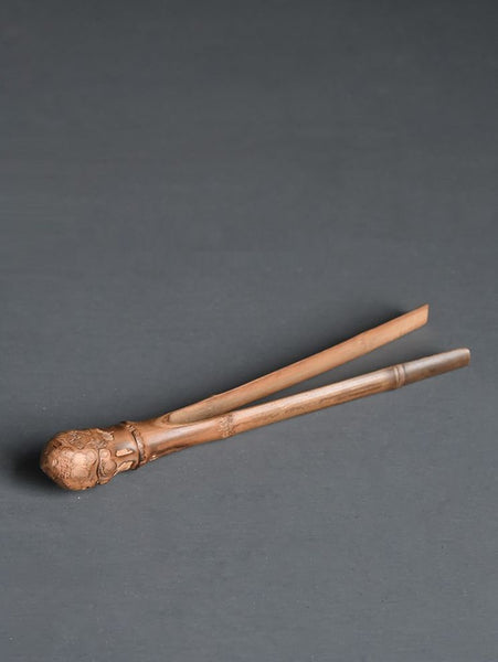 Bamboo Burl Tea Tongs for Gong Fu Cha