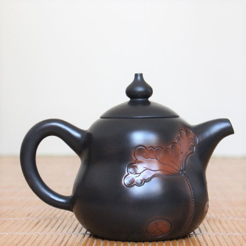 "Jian Shui Clay ""Hu Lu"" Teapot by Lei Xing Hua * 240ml"