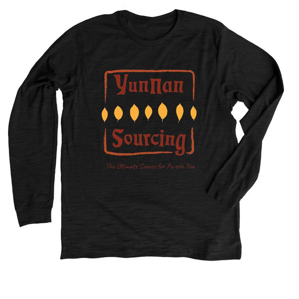 Yunnan Sourcing Logo T-Shirt -Premium Long Sleeve Tee (read description inside, not sold on this site)