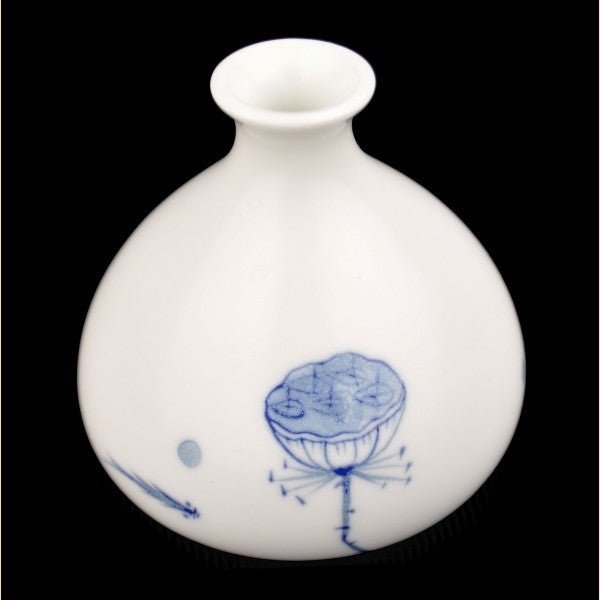 "Porcelain ""Lotus Pond"" Flower Vase of Jingdezhen"