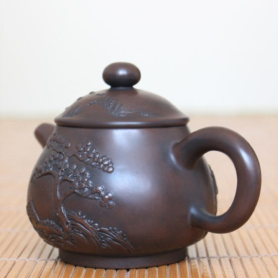 "Jian Shui Clay ""Pan Hu"" Teapot by Huang Shou Zhen * 150ml"