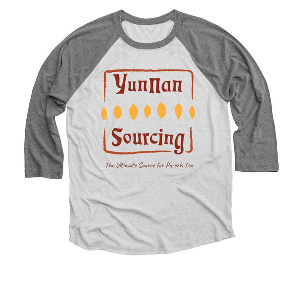 Yunnan Sourcing Logo T-Shirt - 3/4 Sleeve Baseball Tee (read description inside, not sold on this site)
