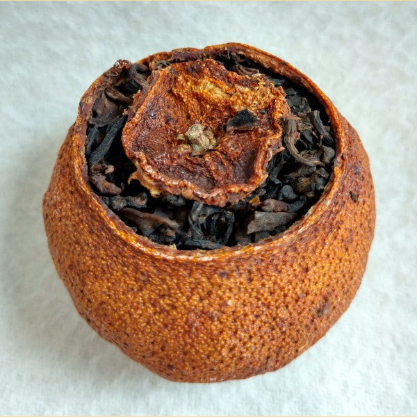 Tangerine Stuffed with 4 Years Aged Ripe Pu-erh Tea
