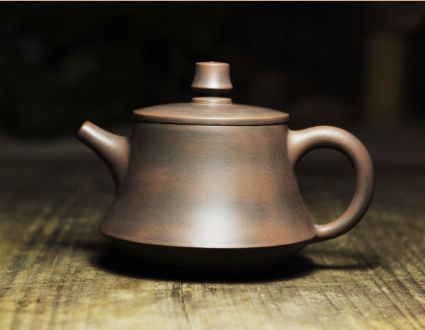 "Qin Zhou Clay Teapot ""Jing Lan"" by Tao Hu Zhe * 190ml - Yunnan Sourcing Tea Shop"