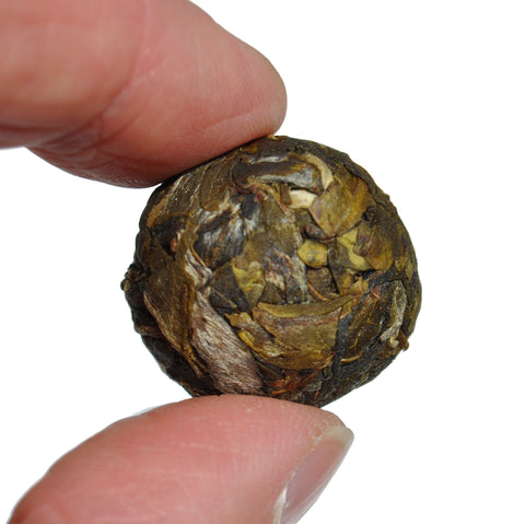 "Bang Dong Village ""Old Tree Huang Pian"" Raw Pu-erh Tea Dragon Balls"