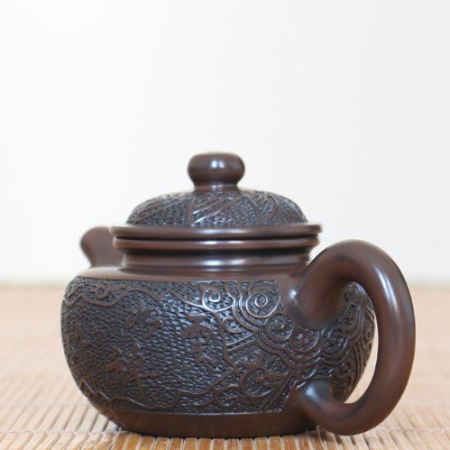 "Jian Shui Clay ""Fang Gu"" Teapot by Hong Xue Zhi * 240ml"
