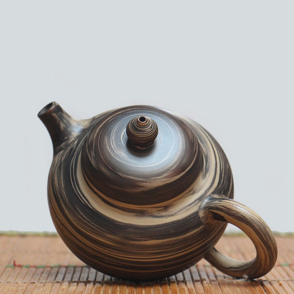 "Jian Shui Clay ""Jiao Ni 1#"" Teapot by Wang Yan Ping * 270ml"