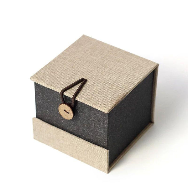 "Padded ""Linen"" Gift Box for Teapots and Teawares"