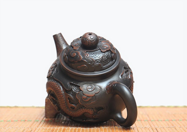 "Jian Shui Clay ""Dragon 2#"" Teapot by He Shang * 260ml"