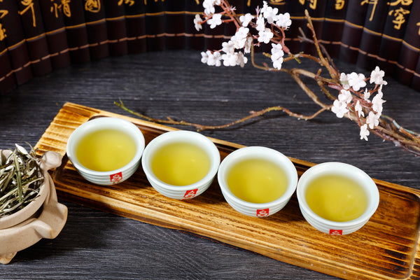 "Ru Yao Celadon ""Concentric"" Set of 4 Cups * 50ml each"