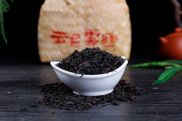 "2014 Yun Tai Mountain ""Basket Tian Jian"" Hei Cha Tea"