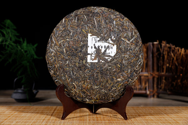 "2018 Yunnan Sourcing ""Long Tang Gu Shu"" Old Arbor Raw Pu-erh Tea Cake"