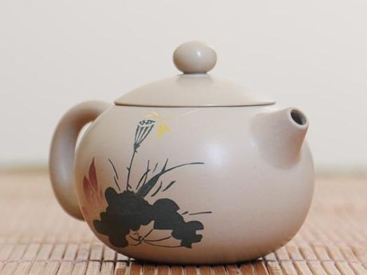 "Jian Shui Clay ""Yun Hai"" Teapot by Chen Quan * 120ml"