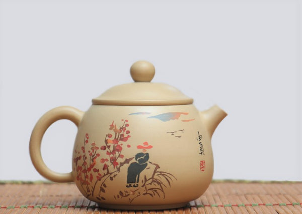 "Jian Shui Clay ""Ya Pin"" Teapot by Li You Ye * 240ml"