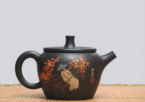 "Jian Shui Clay ""Qiu Feng"" Teapot by Li You Ye * 200ml"