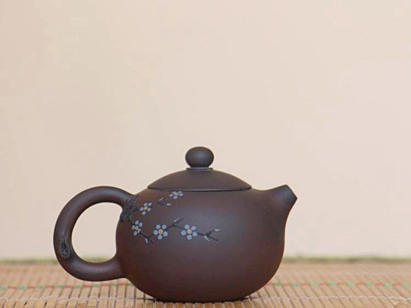 "Jian Shui Clay ""Plum Blossom"" Teapot by Chen Quan * 110ml"