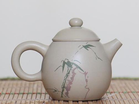 "Jian Shui Clay ""Pure Heart"" Teapot by Chen Quan * 90ml"