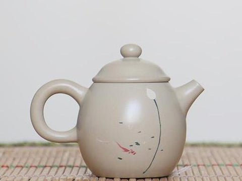 "Jian Shui Clay ""Qing Wan"" Teapot by Chen Quan * 90ml"