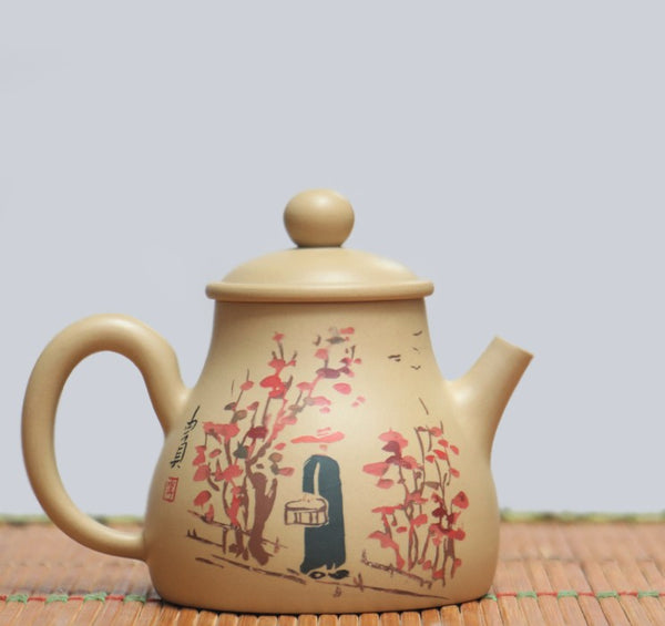 "Jian Shui Clay ""Zao Ji"" Teapot by Li You Ye * 140ml"