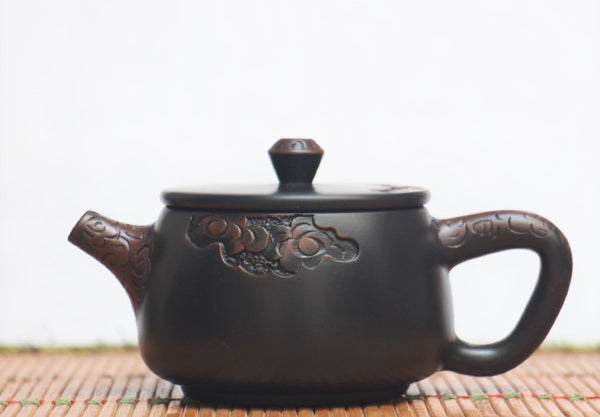 "Jian Shui Clay ""Cloud 1#"" Teapot by He Shang"