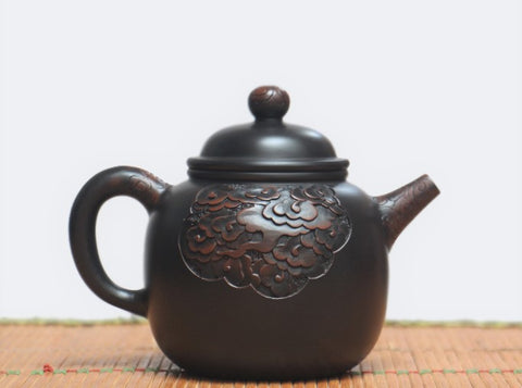 "Jian Shui Clay ""Cloud"" Teapot by He Shang * 250ml"