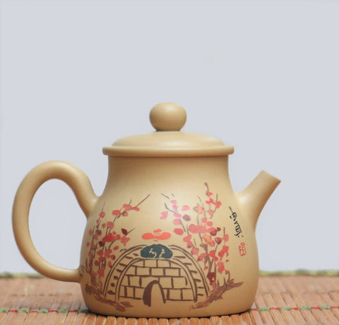 "Jian Shui Clay ""Wu Dao"" Teapot by Li You Ye * 150ml"