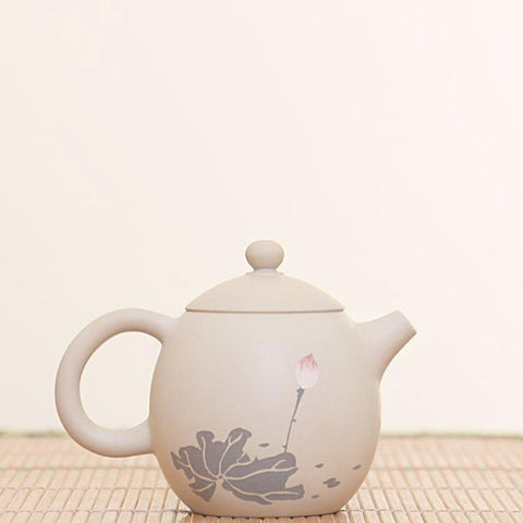 "Jian Shui Clay ""Cha Yun"" Teapot by Chen Quan * 130ml"