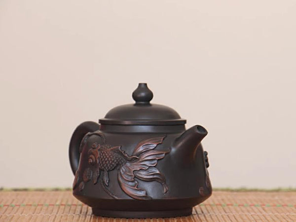 "Jian Shui Clay ""Goldfish"" Teapot by Yang Zhen * 250ml"