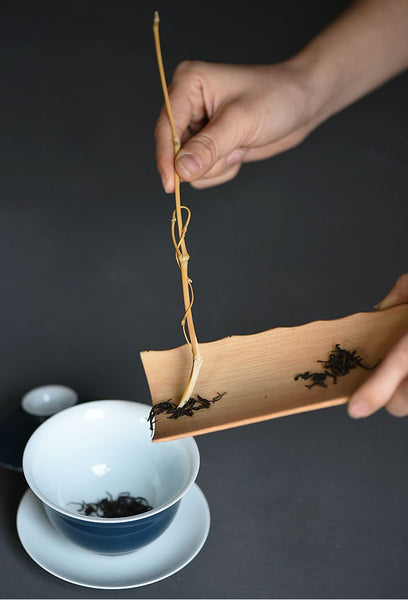 Hand-Made Bamboo Cha Ze for Tea Ceremony