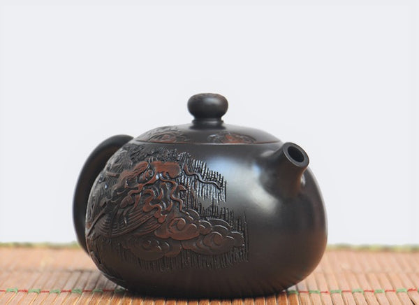 "Jian Shui Clay ""Dragon"" Teapot by Wang Yan Ping * 240ml"