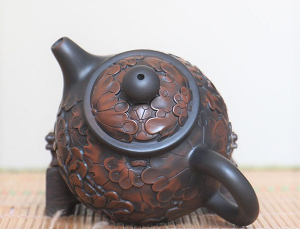 "Jian Shui Clay ""Lotus"" Teapot by Lei Xing Hua * 200ml"