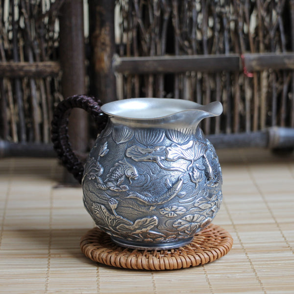 "Pure Silver 999 ""Lian Nian You Yu"" Cha Hai * 175ml"