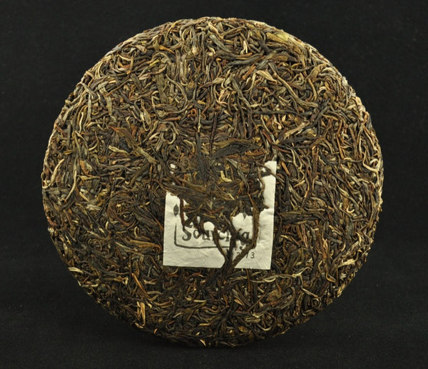 2013 Yunnan Sourcing Autumn Yi Bang Raw Pu-erh Tea Cake