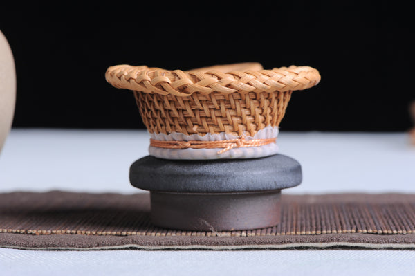 Hand-Woven Wicker Styled Strainer for Gong Fu Tea