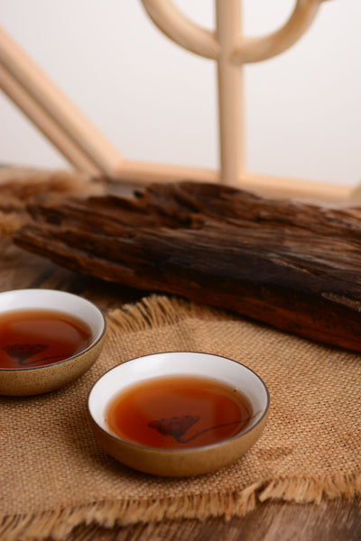 "2019 Yunnan Sourcing ""Jingmai Golden Needle"" Ripe Pu-erh Tea Cake"