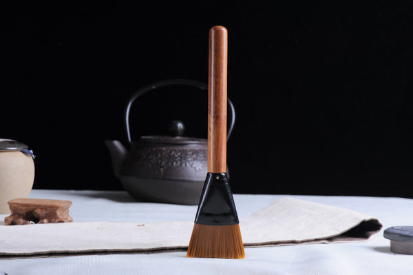 Wenge Wood Pu-erh Tea Pick and Brush Combo