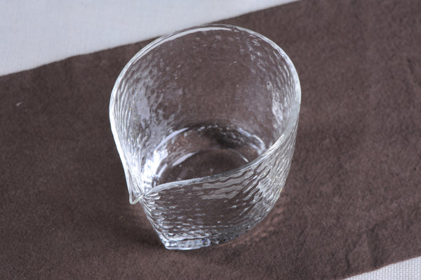 "Obscured Glass ""Tumbler"" Cha Hai for Gong Fu Tea Brewing"
