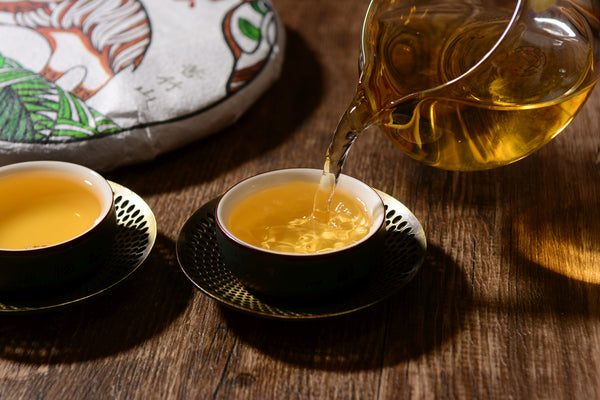 "2019 Yunnan Sourcing ""Autumn Ku Zhu Shan"" Raw Pu-erh Tea Cake"
