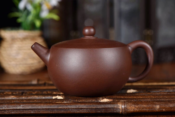 "Zi Ni Purple Clay ""Wan Hu"" Yixing Teapot * 220ml"