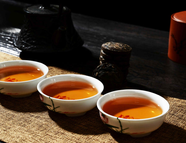 Jinggu Aged Raw Pu-erh Tea Mini Cake