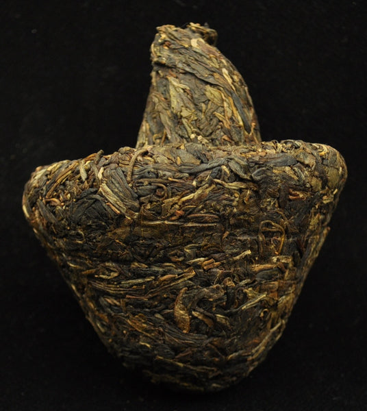 2011 Nan Jian Phoenix Mushroom Tuo Organic Raw Pu-erh tea - Yunnan Sourcing Tea Shop