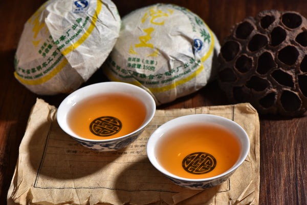 "2007 Liming ""King of Tuo"" Raw Pu-erh Tea Tuo of Menghai"