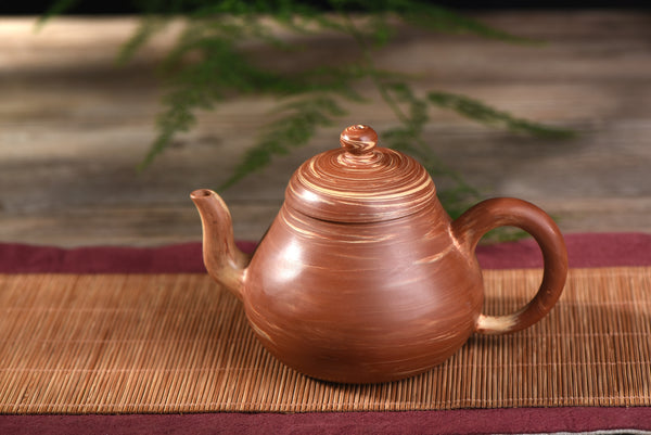 "Jiao Ni ""Pear Shape"" Yixing Clay Teapot * 200ml"