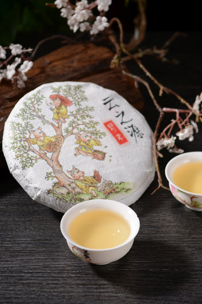"2019 Yunnan Sourcing ""Ye Cha"" Single Grove Raw Pu-erh Tea Cake"