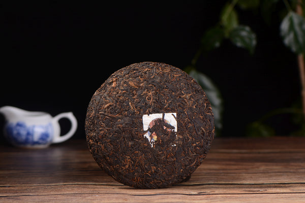 "2019 Yunnan Sourcing ""Last Laugh"" Ripe Pu-erh Tea Cake"