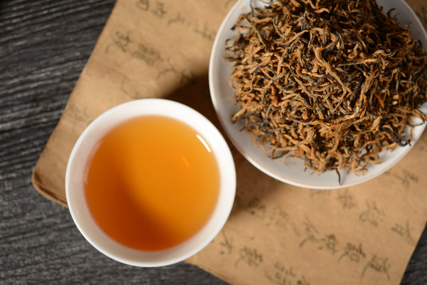 Pure Gold Jin Jun Mei Black Tea of Tong Mu Guan Village