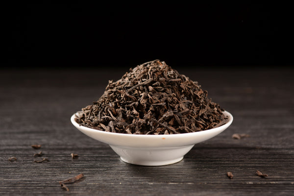 "Jinggu Aged ""Zi Cha"" Purple Loose Leaf Ripe Pu-erh Tea"