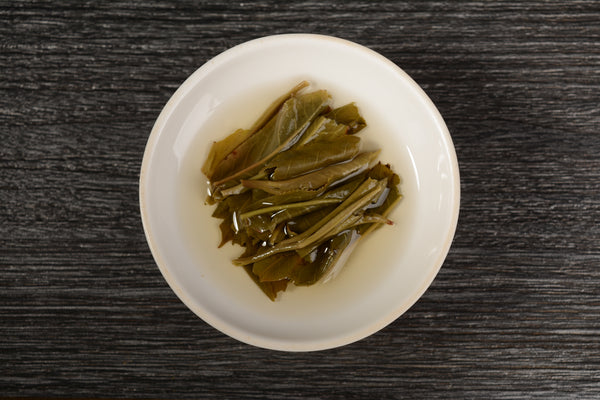 "2019 Yunnan Sourcing ""Wa Long Village"" Yi Wu Old Arbor Raw Pu-erh Tea Cake"